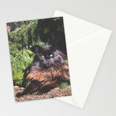 The king of the cats Stationery Cards