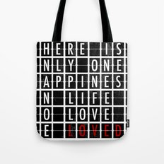 Destination Sign Love Tote Bag