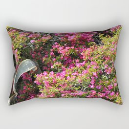 Spring Wild Flowers | Greece #society6 Rectangular Pillow