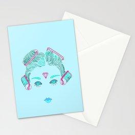 High Roller Blue Stationery Cards