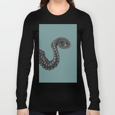 OCTOPUS - tentacle , arm , animal , single , one , spiral Long Sleeve T-shirt