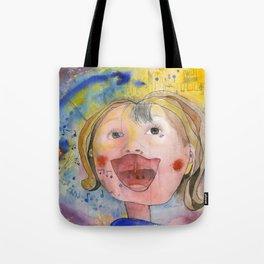 I feel happy Tote Bag