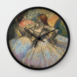 "Edgar Degas ""Dancers"" Wall Clock"