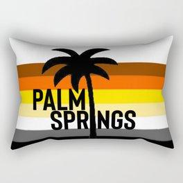 gay bears of Palm Springs California Rectangular Pillow