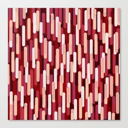 Fast Capsules Red Canvas Print