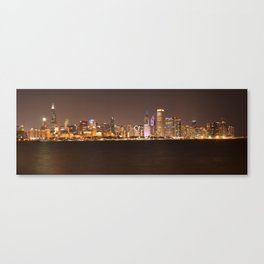 Night in Chicago Canvas Print