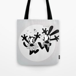 Oswald the Lucky Rabbit: Oswald and Ortensia Excited Tote Bag