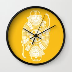 King of the road Wall Clock