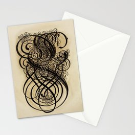 17th Century Calligraphy Stationery Cards