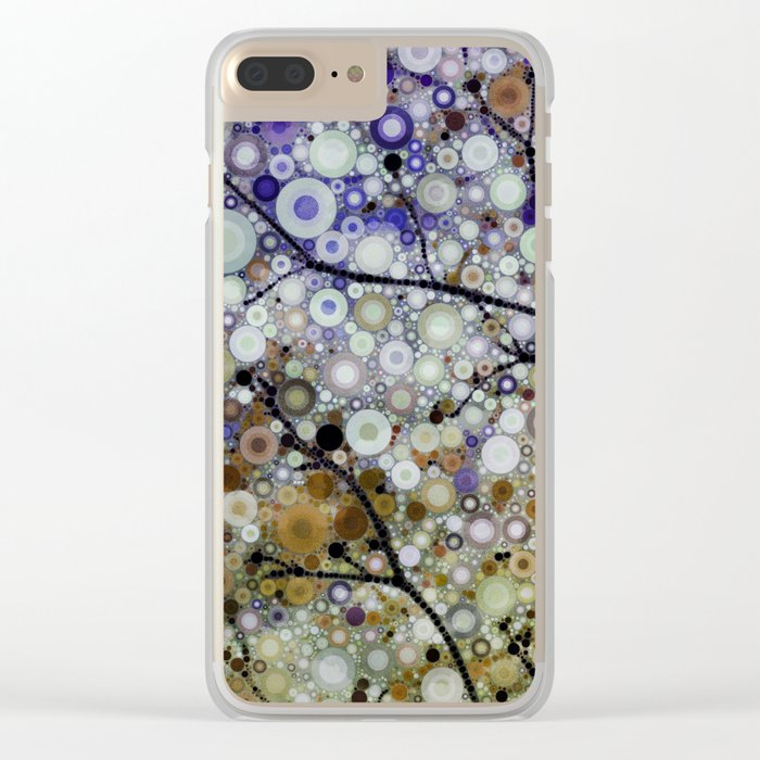 Positive Energy 4 Clear iPhone Case