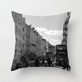 The St. Paul Bustle, London Throw Pillow
