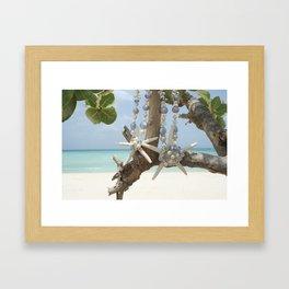 """Be A Star!"" Mother & Daughter in Aruba Framed Art Print"