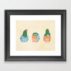 Fuck-You-llents Framed Art Print