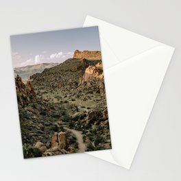 Balanced Rock Valley View in Big Bend - Landscape Photography Stationery Cards