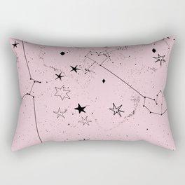 pink galaxi Rectangular Pillow