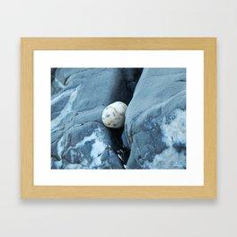 Stone on the Rocks Framed Art Print