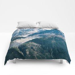 Chamonix, France #society6 #decor #buyart Comforters