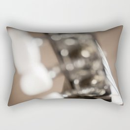 All That Glitters Rectangular Pillow