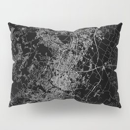 Austin map Texas Pillow Sham