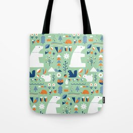 Forest animals Tote Bag