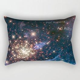 Per Aspera - ad Astra Rectangular Pillow