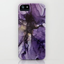 Iris bloom iPhone Case