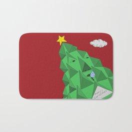 christmas pine Bath Mat