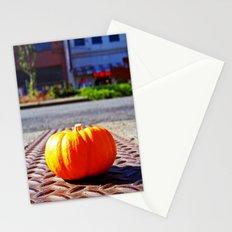 Roadside pumpkin Stationery Cards