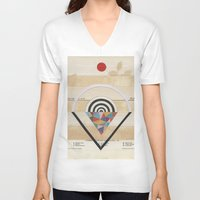 prism V-neck T-shirts featuring Prism by Laurie McCall