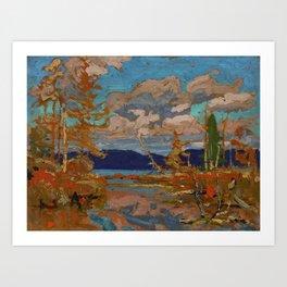 Tom Thomson The Lake, Bright Day 1916 Canadian Landscape Artist Art Print