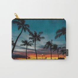 Waikiki Sunset Carry-All Pouch