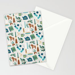 A Very Hygge Holiday Stationery Cards