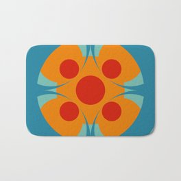 Colorful Genuine Circle Cipactli Bath Mat