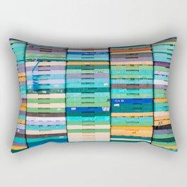 Produce Crates Rectangular Pillow