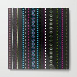 African Beads (Watermelon) Metal Print