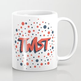 Twist N.2 Modele Rond Coffee Mug