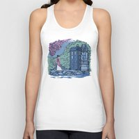 hallion Tank Tops featuring Cannot Hide Who I am Inside by Karen Hallion Illustrations
