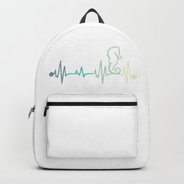 Seahorse Heartbeat Backpack