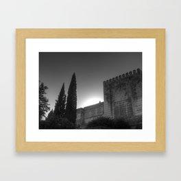 Guardian del Tiempo Framed Art Print