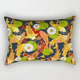 Bright Koi Rectangular Pillow