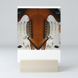 Electric Guitar close up  Mini Art Print
