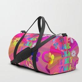 Cook ing is my Yoga Duffle Bag