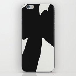Black Coat iPhone Skin