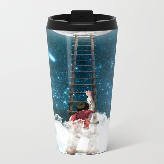 Reach for the Moon v2 Metal Travel Mug