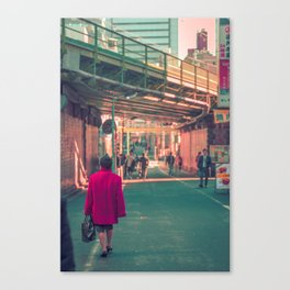TOKYO RED Canvas Print