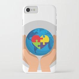 Autism Awareness Day iPhone Case