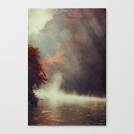 Breathing River Canvas Print