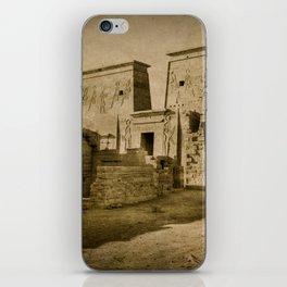 Philae Temple iPhone Skin