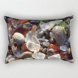 Glass beach California Rectangular Pillow