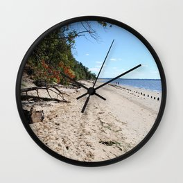 Beach I Wall Clock